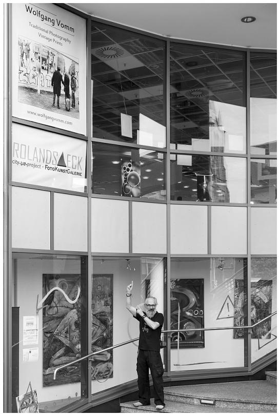 Werbefläche_Clemens Galerien Solingen_Rolandseck